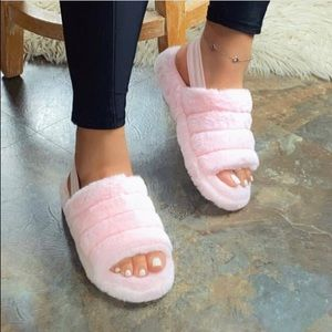 Shoes - New Blush Slippers